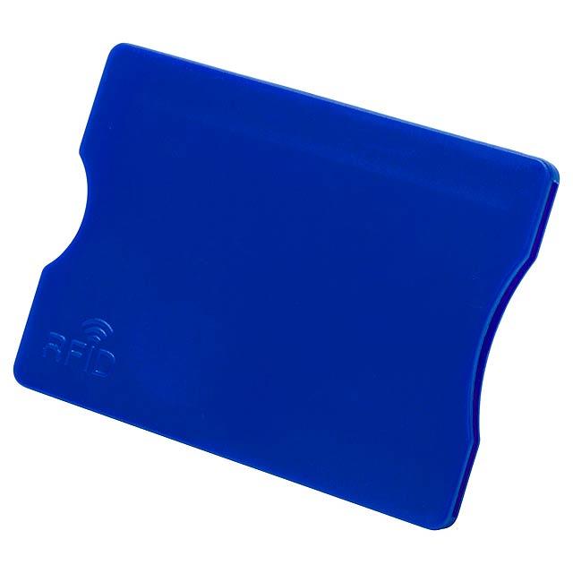 Randy obal na kreditní karty - modrá