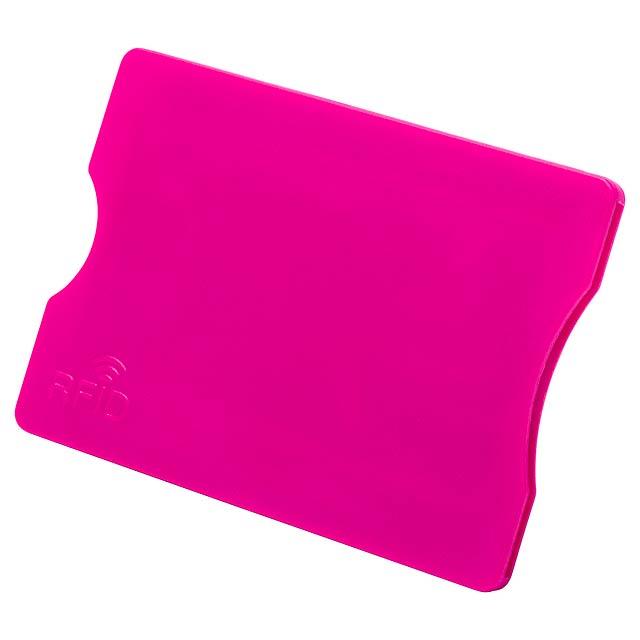 Randy obal na kreditní karty - fuchsiová (tm. ružová)