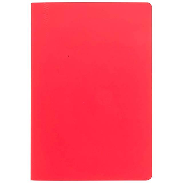 Dienel blok - červená
