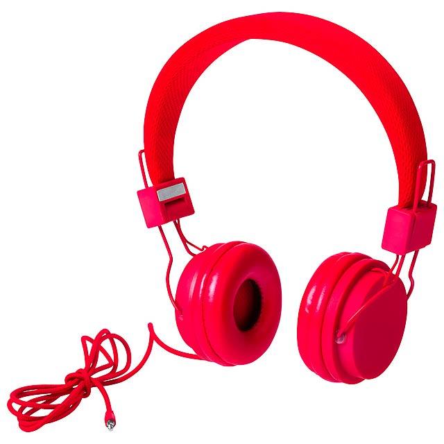 Neymen sluchátka - červená