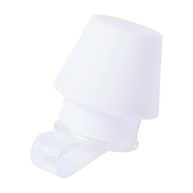 Vanairix stojánek na mobil se stínítkem - bílá
