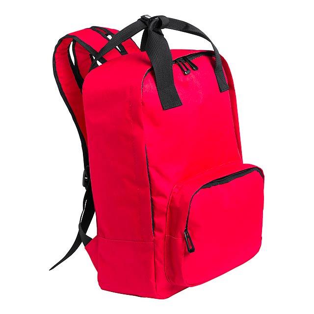 Doplar batoh - červená