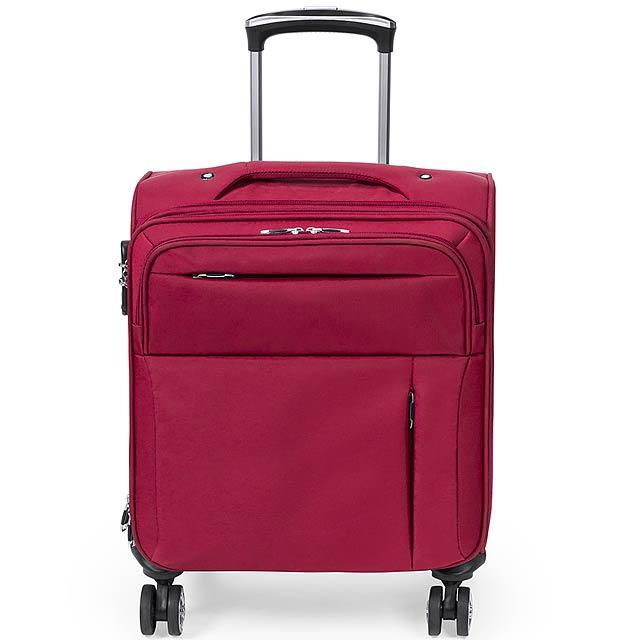 Zoidel kufr na kolečkách - červená