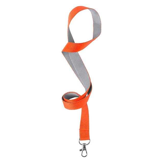 Tremen lanyard - oranžová