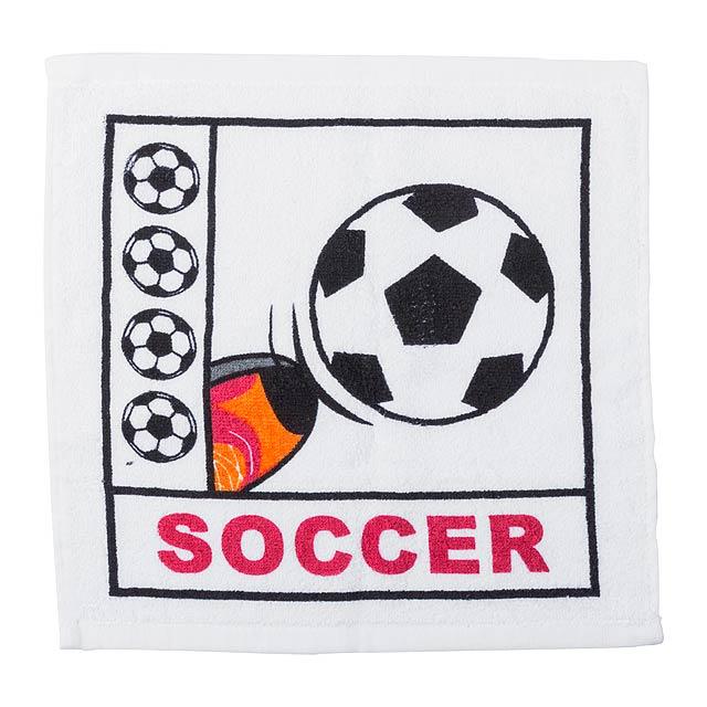Spica slisovaný ručník - multicolor