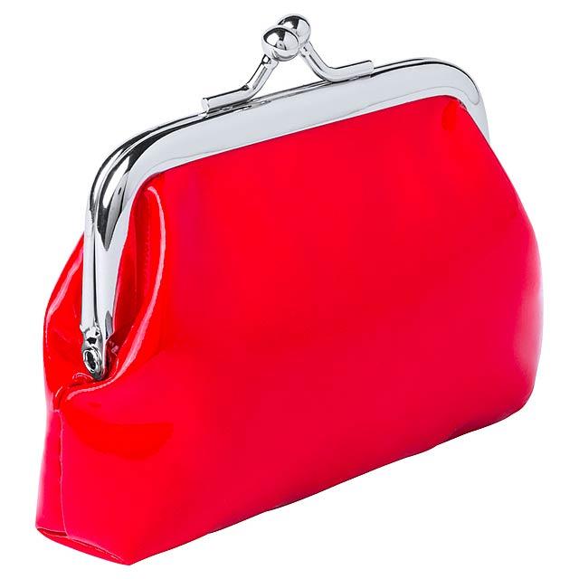 Zirplan peněženka - červená