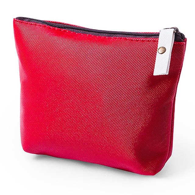 Wobis kosmetická taška - červená