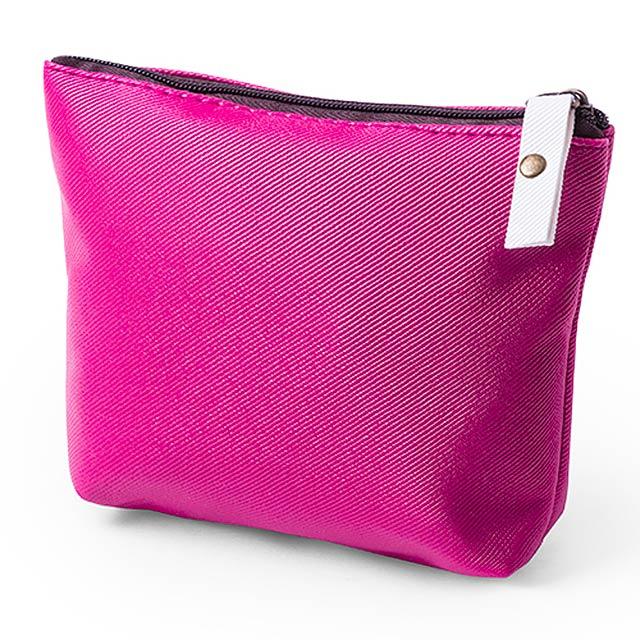 Wobis kosmetická taška - fuchsiová (tm. růžová)