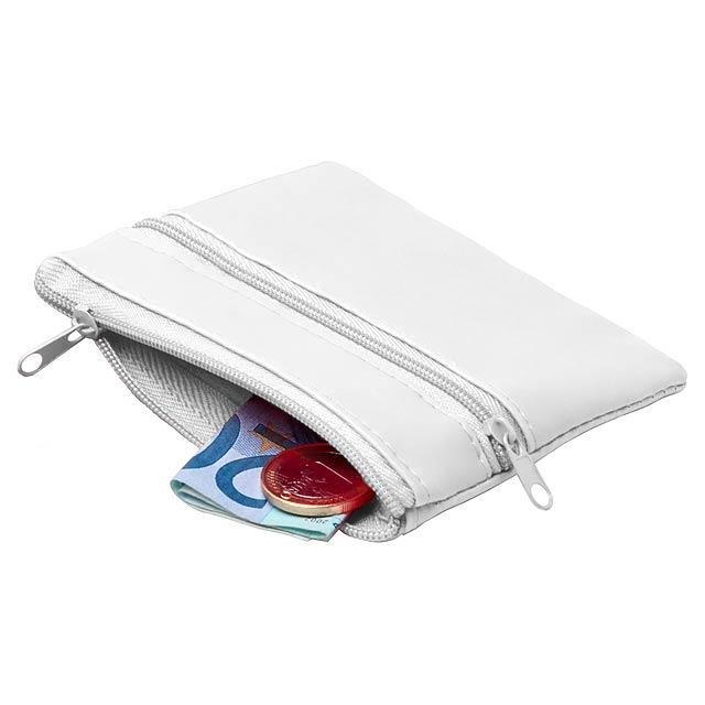 Ralf peněženka - bílá