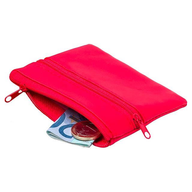 Ralf peněženka - červená