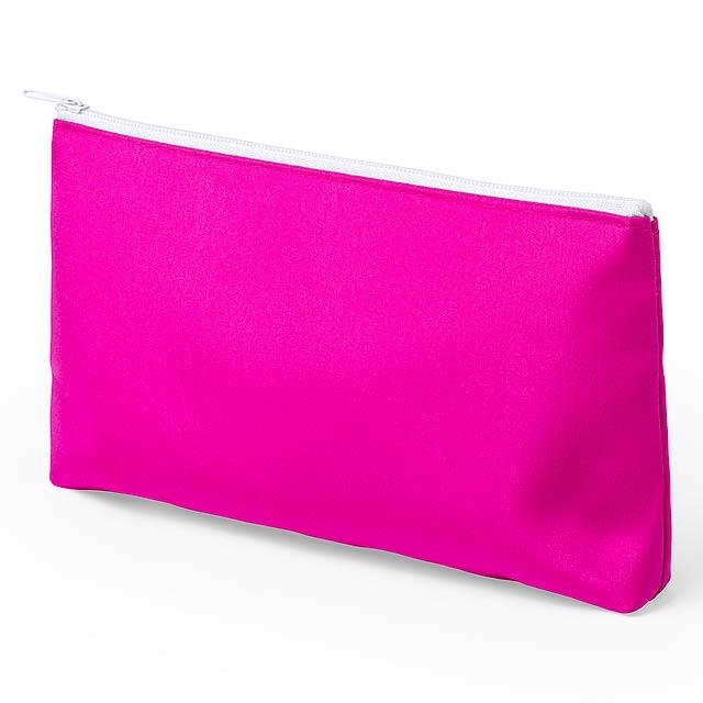 Rarox kosmetická taška - fuchsiová (tm. růžová)