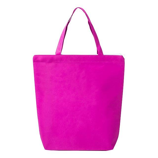 Kastel nákupní taška - fuchsiová (tm. růžová)