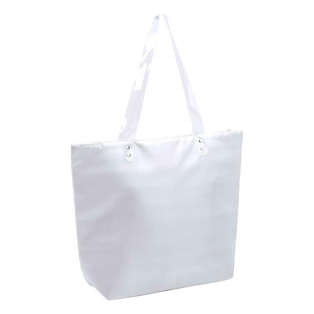 Vargax plážová taška - bílá