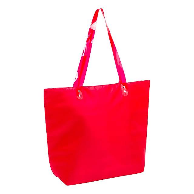 Vargax plážová taška - červená