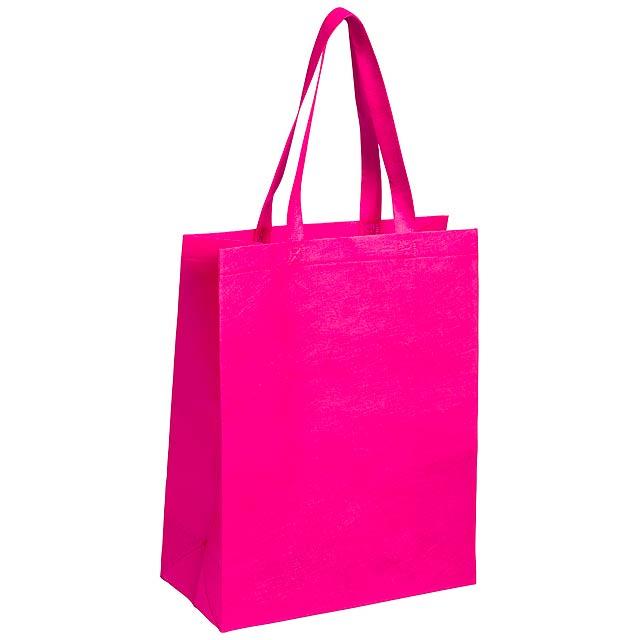 Cattyr nákupní taška - fuchsiová (tm. růžová)