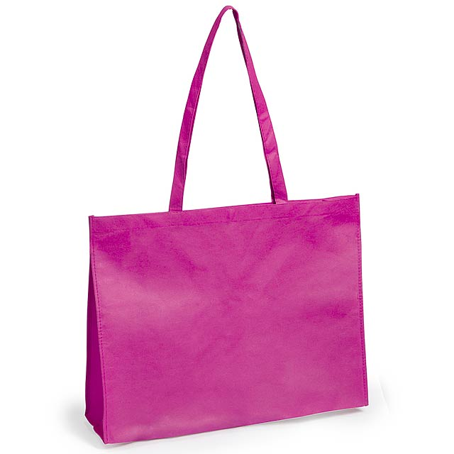 Karean nákupní taška - fuchsiová (tm. růžová)