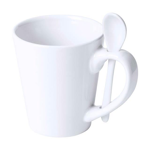 Kaffir hrnek pro sublimaci - bílá