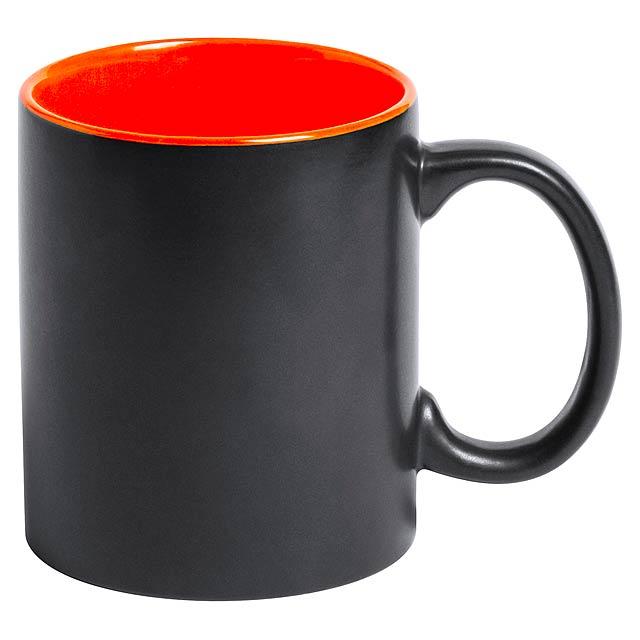 Bafy hrnek - oranžová