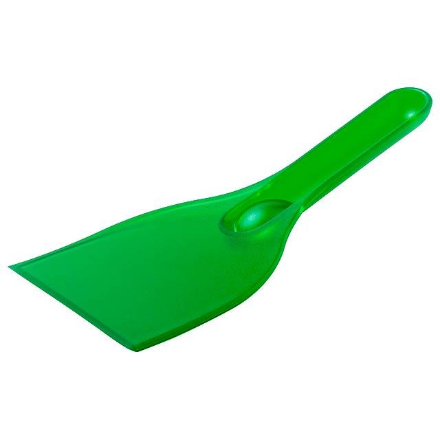 Feniok škrabka na led - zelená