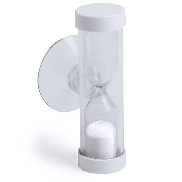 Siapax přesýpací hodiny - bílá