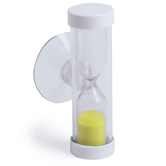 Siapax přesýpací hodiny - žlutá