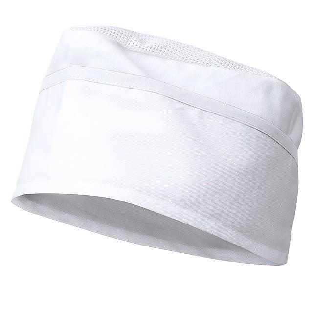 Painer klobouk - bílá