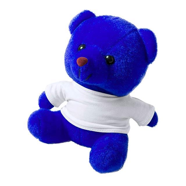 Alison plyšový medvídek - modrá