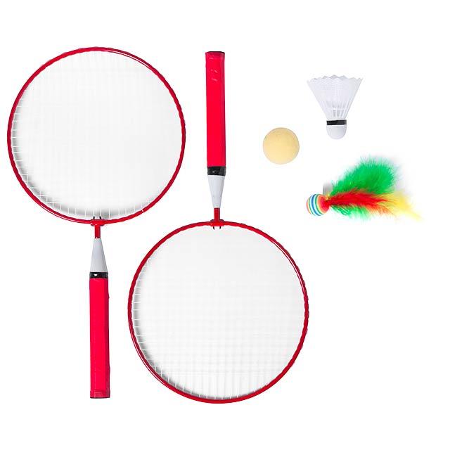 Dylam sada na badminton - červená