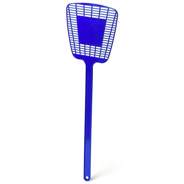 Trax plácačka na mouchy - modrá
