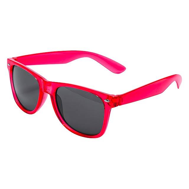 Musin - sluneční brýle - červená a28d21485b2