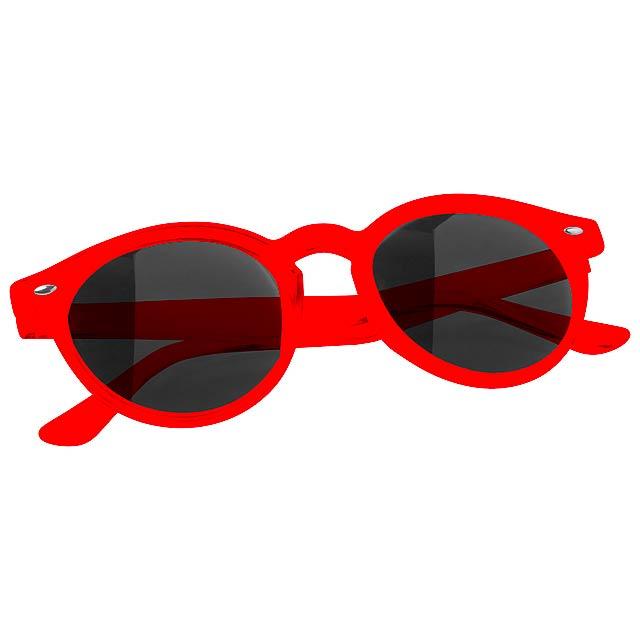 Nixtu sluneční brýle - červená
