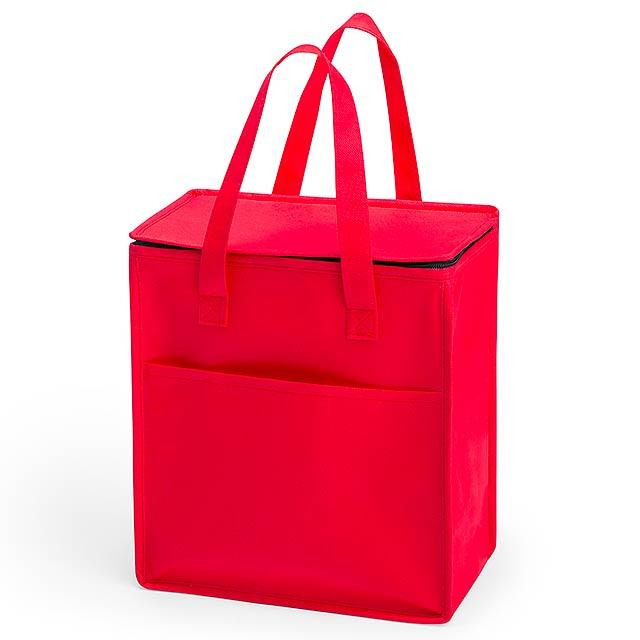 Lans chladící taška - červená