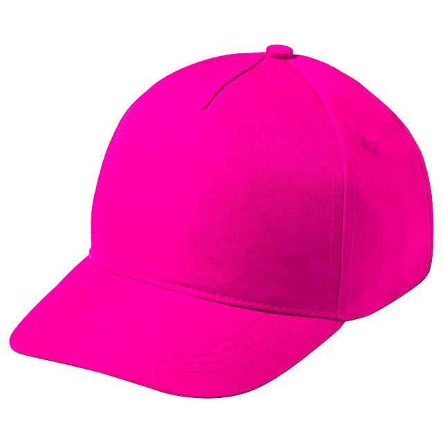 Krox baseballová čepice - fuchsiová (tm. růžová)