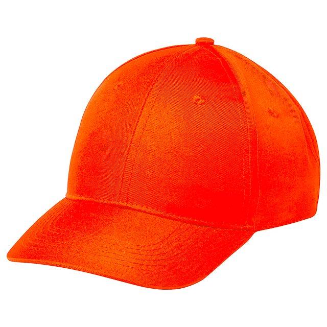 Blazok baseballová čepice - oranžová