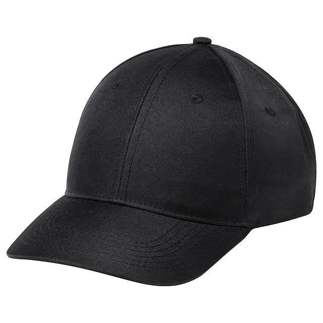 Blazok baseballová čepice - černá