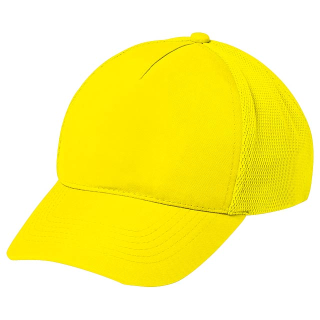Karif baseballová čepice - žlutá