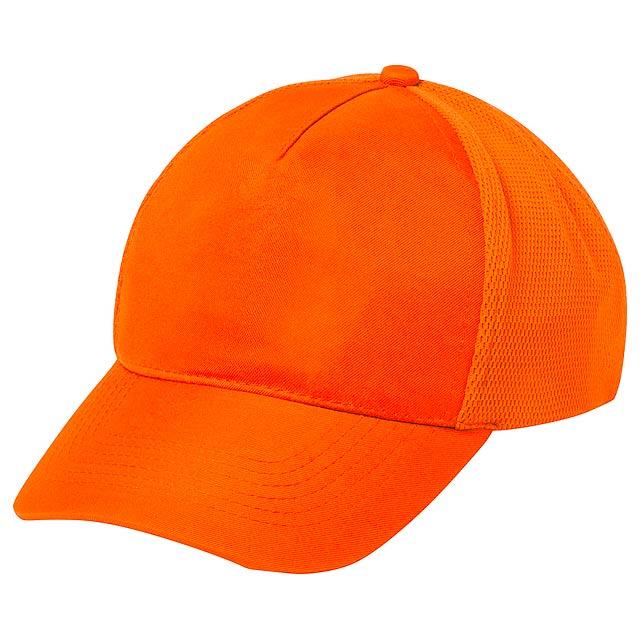 Karif baseballová čepice - oranžová