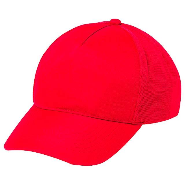 Karif baseballová čepice - červená