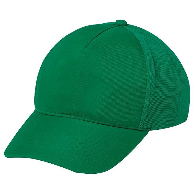 Karif baseballová čepice - zelená