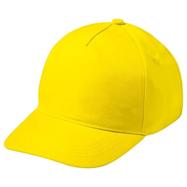 Modiak baseballová čepice pro děti - žlutá