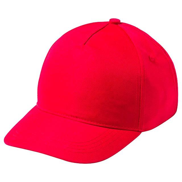Modiak baseballová čepice pro děti - červená