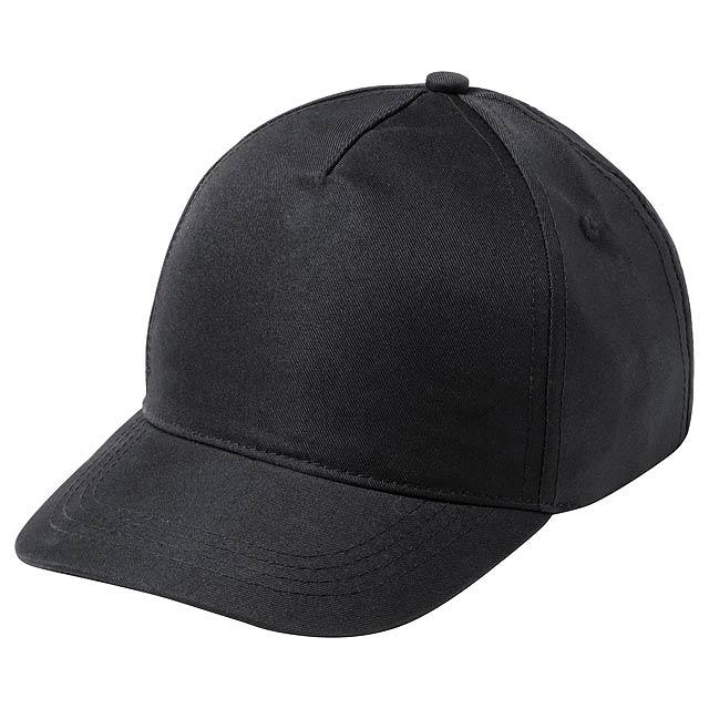 Modiak baseballová čepice pro děti - černá
