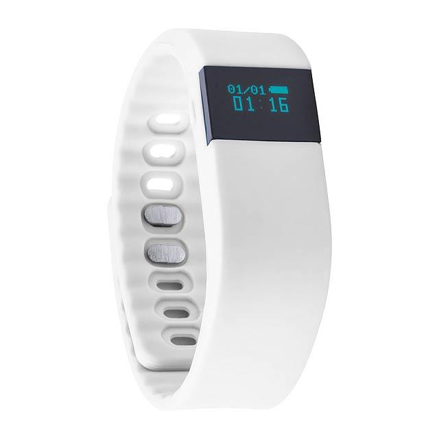 Wesly chytré hodinky - bílá