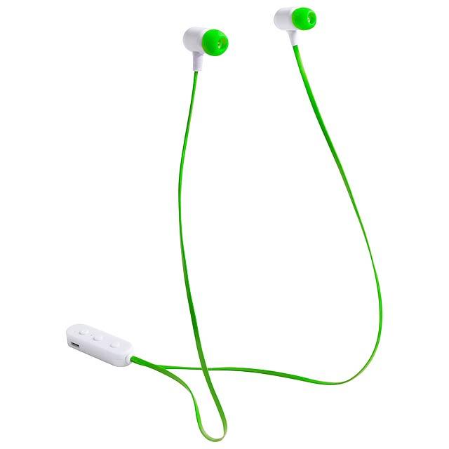 Stepek bluetooth sluchátka - zelená