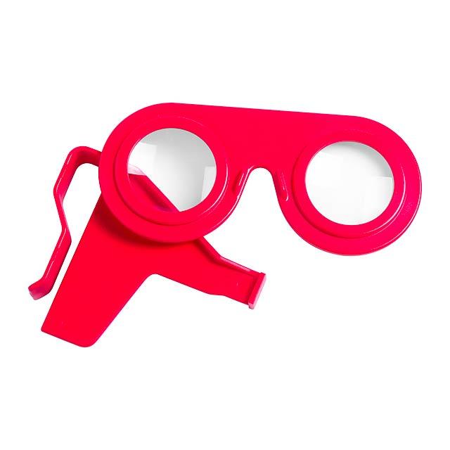 Bolnex brýle pro virtuální realitu - červená