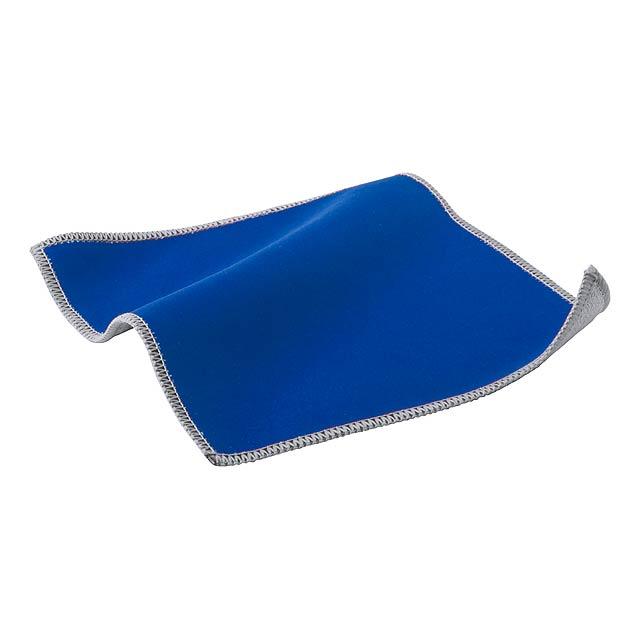 Crislax čistící hadřík na displeje - modrá