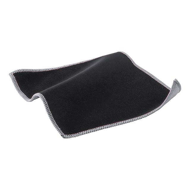 Crislax čistící hadřík na displeje - černá
