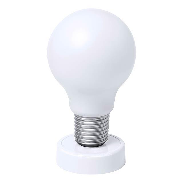 Slanky stolní lampička - bílá