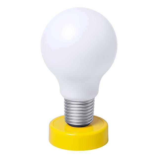 Slanky stolní lampička - žlutá
