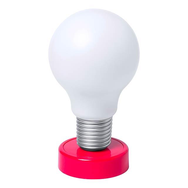 Slanky stolní lampička - červená